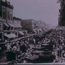 Image of Cavalry boys departing from Sioux Falls, September 15, 1917