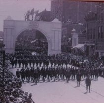 Image of Army returning from World War I, n.d.