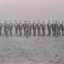 Image of Company B, Sioux Falls/South Dakota militia, September 5, 1886