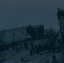 Image of Possibly a parade for William Jennings Bryan, ca. 1900