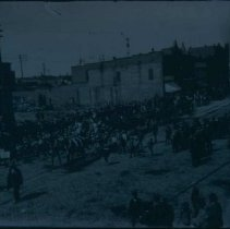 Image of Possiby a parade for William Jennings Bryan, ca. 1900