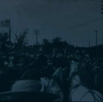 Image of Possibly Theodore Roosevelt speaking in Sioux Falls, 1900