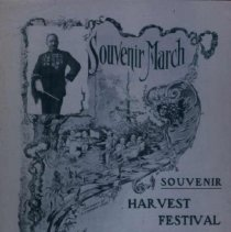 """Image of Cover of Harvest Festival """"Souvenir March,"""" October 1906"""