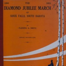 """Image of Cover of """"Diamond Jubilee March"""" from 1931"""