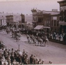 Image of Parade on Phillips Avenue (looking north from 9th), pre-1887
