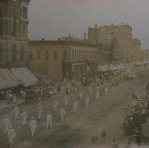 Image of Parade on Phillips Avenue (looking north), ca. 1905