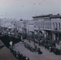 Image of Parade on Phillips Avenue (looking north from 9th), ca. 1890s