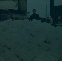 Image of Snow in downtown Sioux Falls, n.d.