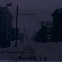 Image of Blizzard in Sioux Falls, February 8-9, 1909