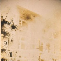 Image of Fire at Fantle's Building, 1918