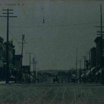 Image of Main Street of Canton, SD, ca. 1907-1909