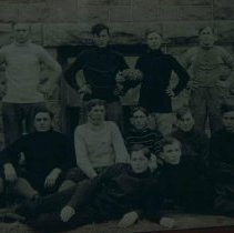 Image of Augustana College football team in Canton, SD, 1907