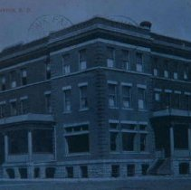 Image of Rudolph Hotel in Canton, SD, 1909