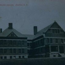 Image of Hiawatha Indian Insane Asylum in Canton, SD, ca. 1907-1909