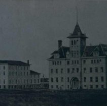 Image of Augustana College in Canton, SD, ca. 1907-1909