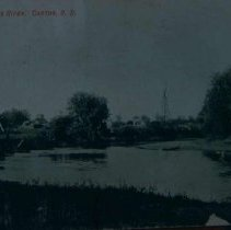Image of Big Sioux River at Canton, SD, ca. 1907-1909