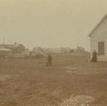 Image of Main Street (looking northwest) in Colton, SD, pre-1900
