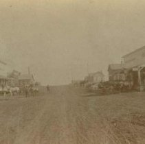 Image of Main Street (looking north) in Colton, SD, 1900