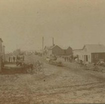 Image of Main Street (looking south) in Colton, SD, 1900