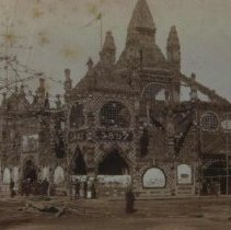 Image of Corn Palace in Mitchell, SD, 1887