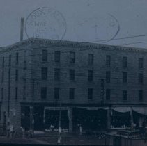 Image of Widman Hotel in Mitchell, SD, 1908