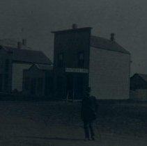 Image of Mr. Landers (related to Winona Axtell Lyon) in Clark, Dakota Terr., n.d.