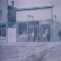 Image of Mike Thul's Drug Store in Waubay, SD, n.d.