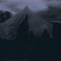 Image of Tent at Charles and Mary Jean Dopp homestead near White Owl, SD, 1907