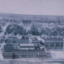 Image of Bird's-eye view of Rapid City, SD (looking north), n.d.