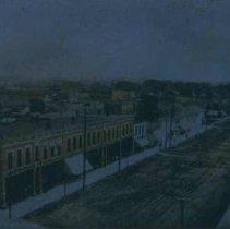 Image of 3rd Street (looking east) in Huron, SD, n.d.