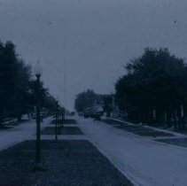Image of 3rd Street boulevard in Beresford, SD, 1926