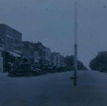Image of 3rd Street (looking north) in Beresford, SD, 1926