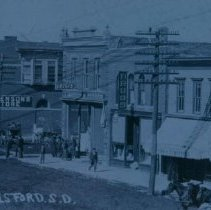 Image of 3rd Street in Beresford, SD, 1911