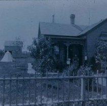 Image of Herman Robsohn home in Hartford, SD, ca. 1900