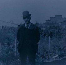 Image of John Mundt in Hartford, SD, ca. 1900