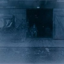 Image of People outside W. B. Knodt Implements in Hartford, SD, ca. 1900