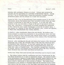 Image of Memorandum, Paul A. Boe to Social Service/David Preus, March 7, 1973, p. 2