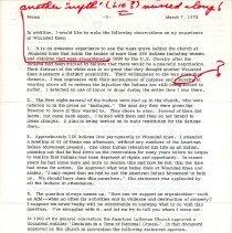 Image of Memorandum, Paul A. Boe to Social Service/David Preus, March 7, 1973, p. 3