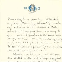 Image of Estella West to Margaret Louisa Irvine Riggs, June 3, 1943, p. 3