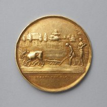 Image of Phila. Society for Promoting Agriculture, obverse