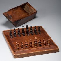 Image of Chess Set, with box