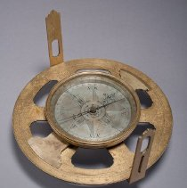 Image of Circumferentor, or Incomplete Theodolite