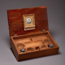 Image of Secretary's Writing Box, open