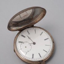 Image of Pocket Watch, open