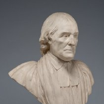 Image of Bust of William White, 3/4 view