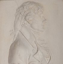 Image of Bas-Relief with Portrait of Thomas Jefferson
