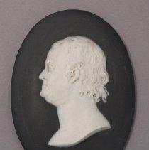 Image of Medallion with Portrait of Benjamin Franklin