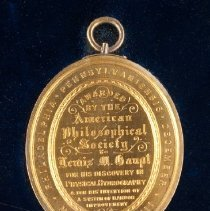 Image of 2009.29 - Medal, Commemorative