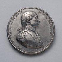 Image of John Paul Jones Medallion - obverse