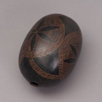 Image of Incised gourd
